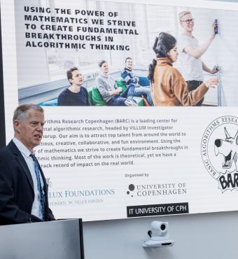 Villum Investigator år 2017 og professor på Datalogisk Institut på Københavns Universitet, Mikkel Thorup, fortæller om mulighederne, der følger med en Villum Investigator-bevilling
