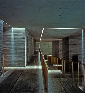 Thermal baths by Peter Zumthor, Switzerland